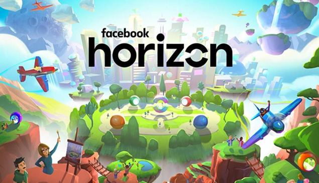 Facebook cria Horizon, rede social de realidade virtual