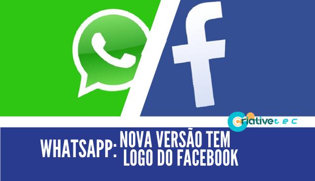 WhatsApp: nova versão tem modo escuro e logomarca do Facebook