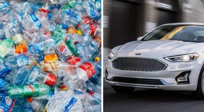 Ford recicla garrafas plásticas para fabricar veículos