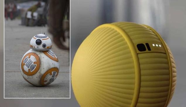Samsung apresenta robô parecido com BB-8 de Star Wars