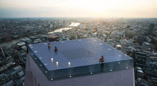 Arquiteto cria primeira piscina com borda infinita em 360º do mundo