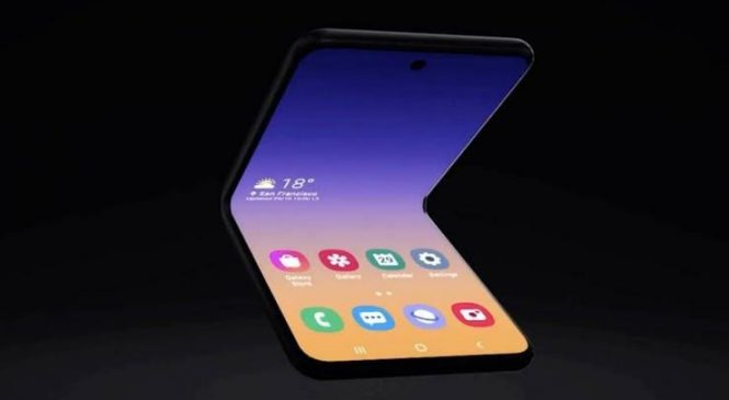 Samsung: novo celular dobrável tem tela de vidro flexível e preço menor