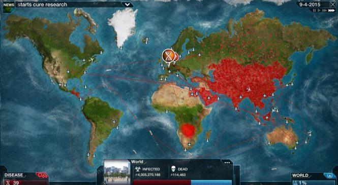 Jogo de criar vírus mortal sai do ar por alta procura