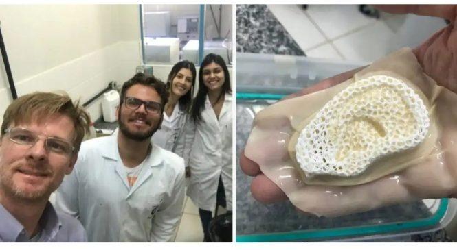 Cientistas do Paraná criam membrana que desenvolve ossos, pele e cartilagem