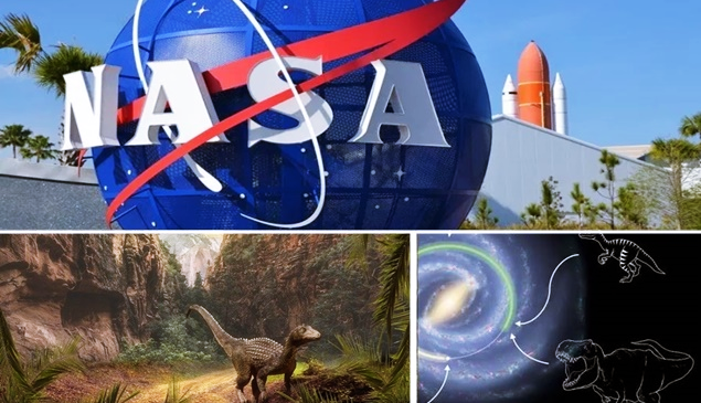 Nasa mostra em vídeo que dinossauros viviam em outra parte da galáxia
