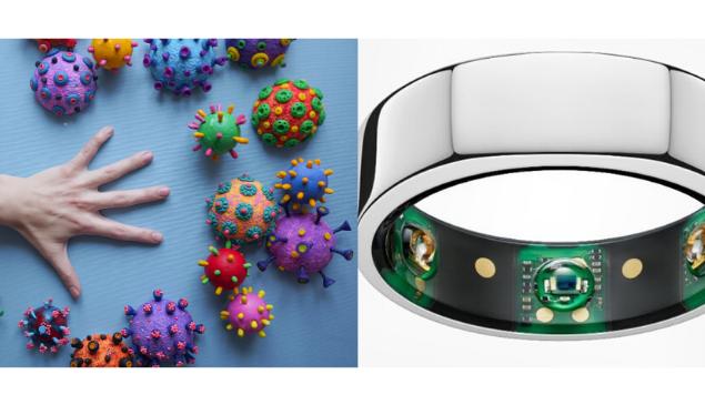 Coronavírus: anel smart prevê sintomas antes de aparecerem
