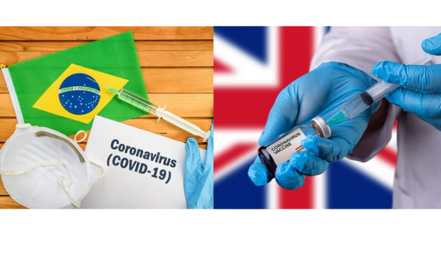 Coronavírus: Brasil adquire 100 milhões de doses da vacina de Oxford para dezembro