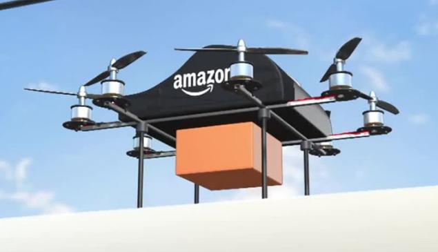 Amazon fará entregas de produtos por meio de Drones