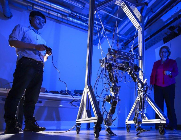 Engenheiros criam peça robótica que diminui risco para humanos
