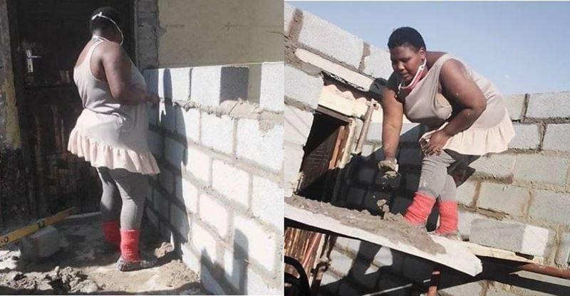 Engenheira Civil recém formada constrói casa com as próprias mãos